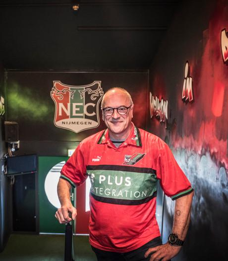 Superfan van NEC, uit Friesland: 'Hier zeggen ze nu ook eniesee'