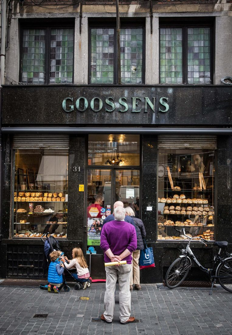 Bakkerij Goossens in de Korte Gasthuisstraat in Antwerpen. Beeld Bas Bogaerts