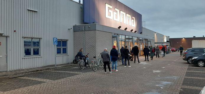 De Gamma aan de Kanaaldijk in Eindhoven.