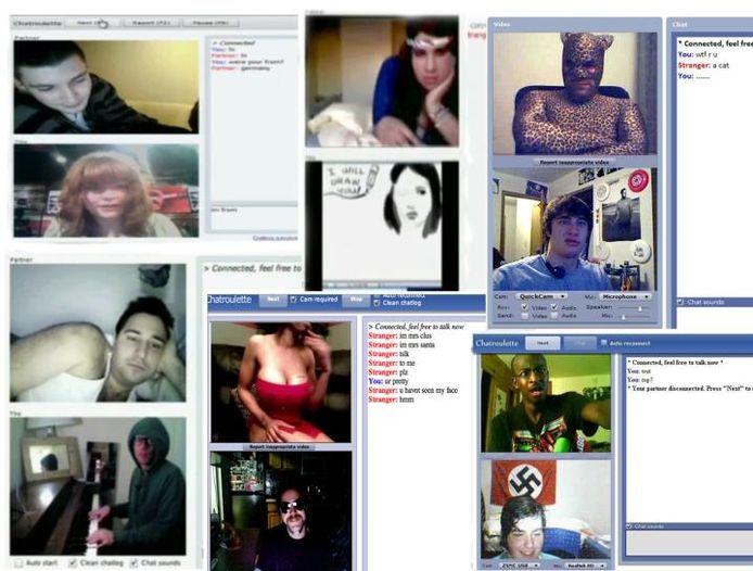 Chatroulette face Video chatroulette