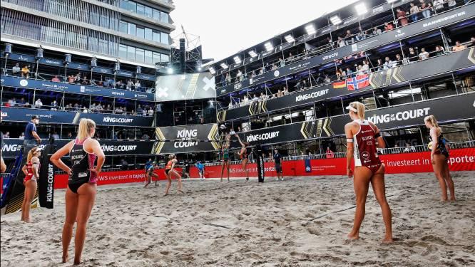 Twee positieve tests bij King of the Court beachvolleybal in Utrecht
