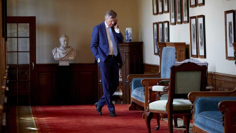 Loek Hermans stapt op als senator VVD na Meavita-debacle. Beeld anp