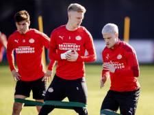 PSV heeft nogal wat personele problemen voor het duel met sc Heerenveen