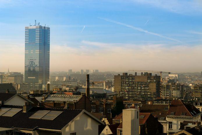 Smog boven Brussel