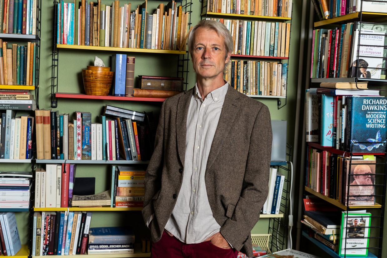 Sander Kollaard: 'Ik heb nu eenmaal een alert oog voor verval en aftakeling.' Beeld Michael Campanella