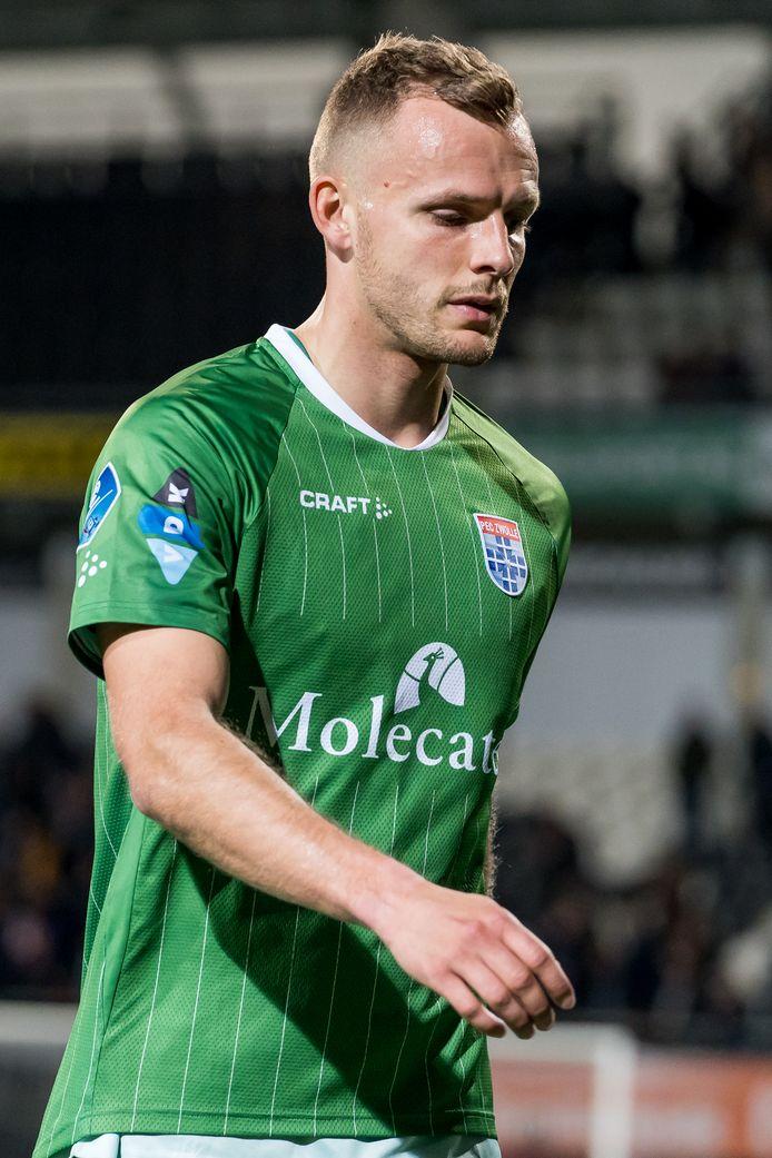 Lennart Thy: tweemaal scorend in Hoek.
