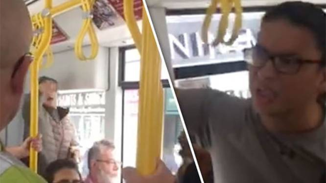Geval van extreem racisme op tram in Manchester