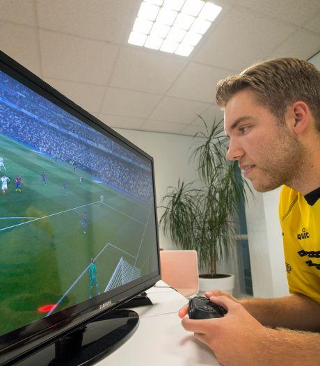 E-gamer Menno Bouhuijzen wil bovenin het rechterrijtje eindigen