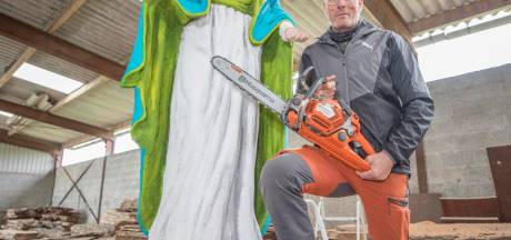 Stokoude boom uit Ovezande keert terug als Maria
