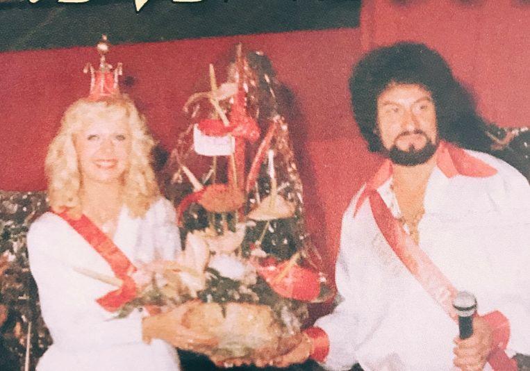 Margot en Enrico in 1979.