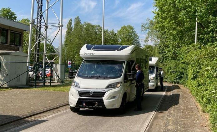 De wegpolitie van Oost-Vlaanderen organiseerde zondag een infodag voor caravans en mobilhomes