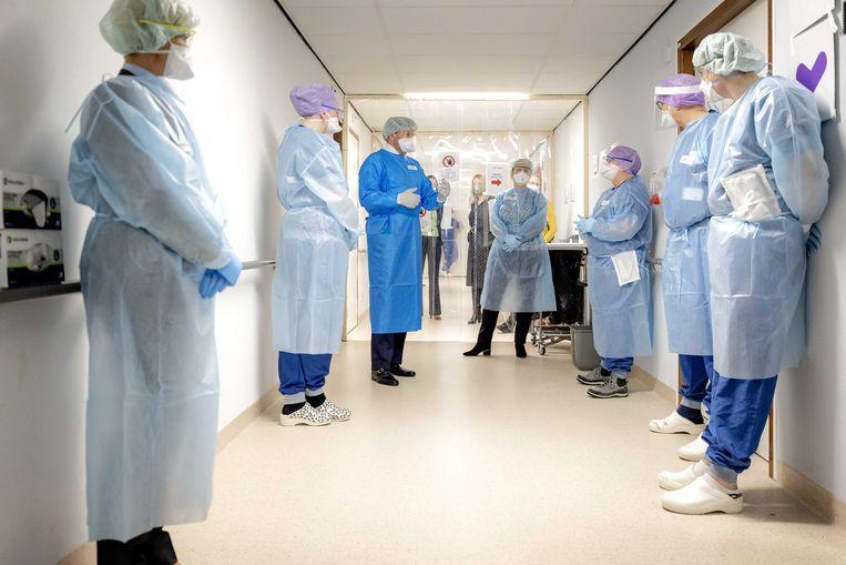Het Van Weel-Bethseda Ziekenhuis in Dirksland. Beeld ANP