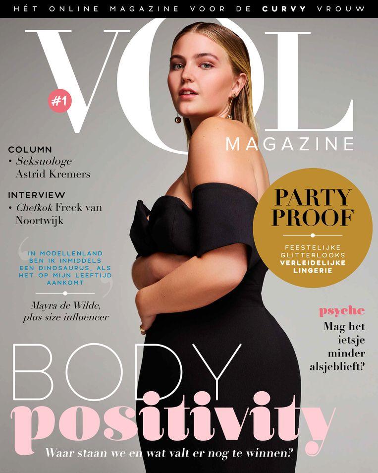 Een cover van het tijdschrift VOL. Beeld