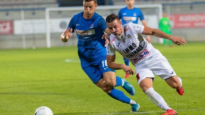 """FCV Dender-coach Regi Van Acker na scoreloos gelijkspel tegen Knokke FC: """"Veel progressie gemaakt, maar doelpuntje ontbrak"""""""