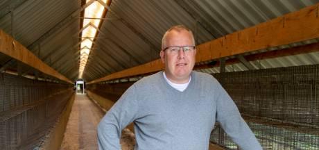 Voorvechter Lyon (43) uit Nieuw Heeten maakt zich zorgen over risico verspreiding coronavirus bij nertsen: 'Onze sector heeft het al zo moeilijk'