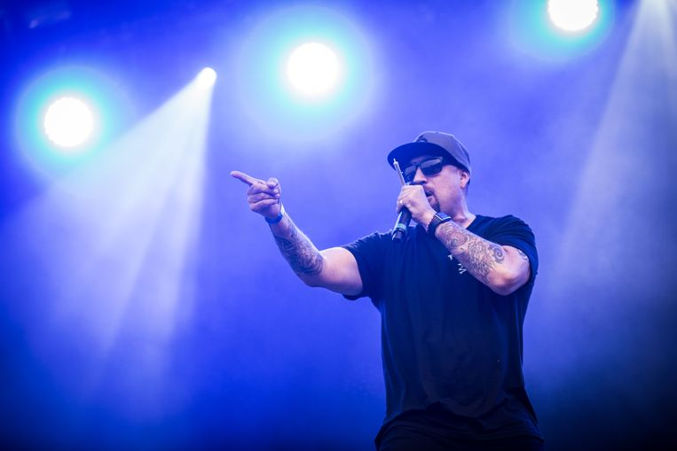 Cypress Hill op Rock en Seine Beeld Bas Bogaerts