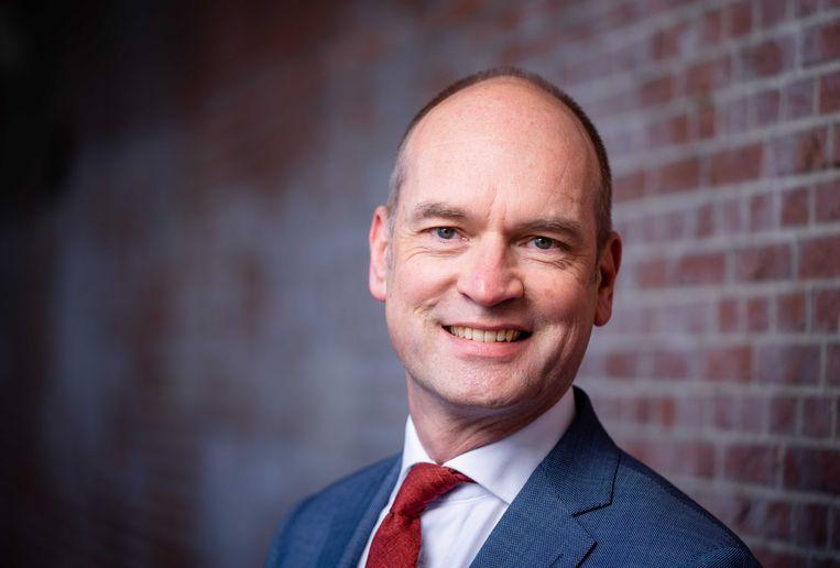 """Gert-Jan Segers (ChristenUnie): """"Als we nog een keer aan de formatietafel worden uitgenodigd, zijn we niet tevreden met de status quo.'' Beeld ANP"""