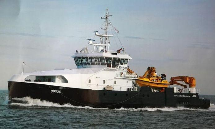 Les passagers ont été récupérés par deux engins de sauvetage.