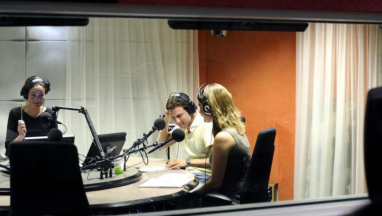 Een van de Radio 1-studio's. Beeld ANP