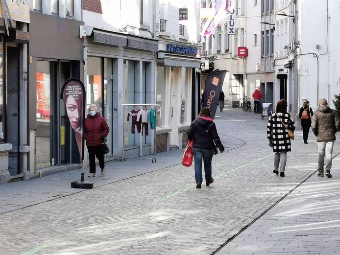 De stad wil zelf een invulling zoeken voor leegstaande winkelpanden.