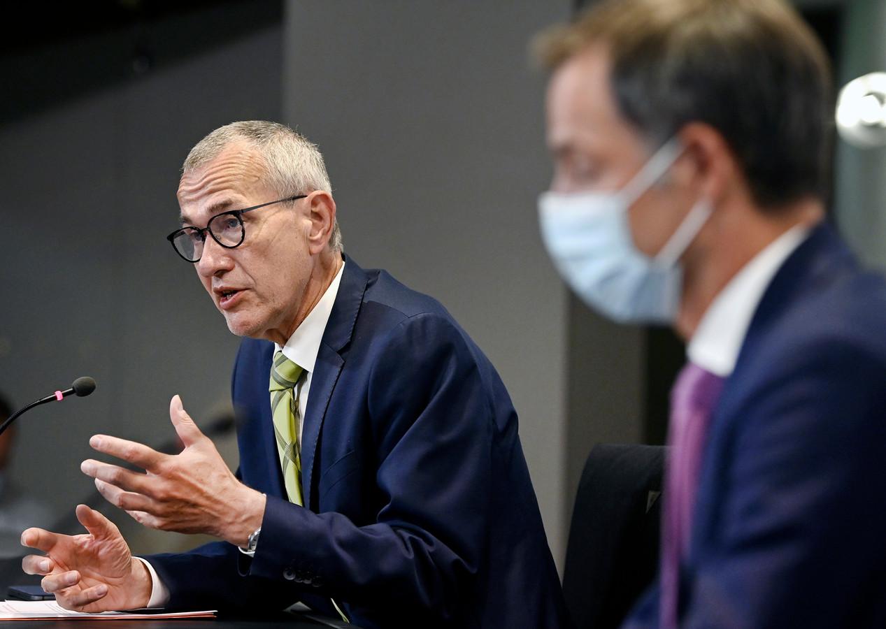 Le ministre fédéral de la Santé, Frank Vandenbroucke