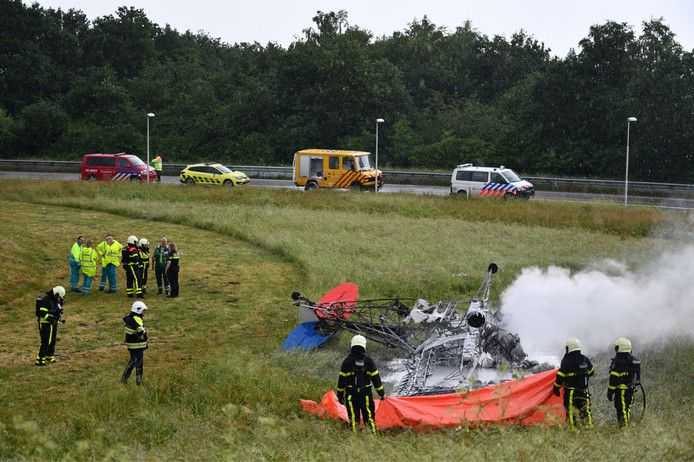 Crash sportvliegtuig Breda International Airport