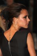 Victoria Beckham was de tatoeage in haar nek ook al zat.