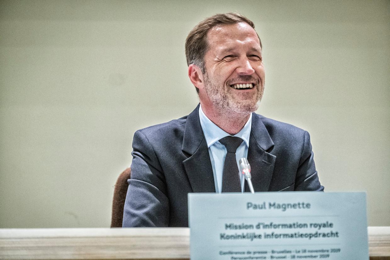 Informateur en PS-voorzitter Paul Magnette Beeld Tim Dirven