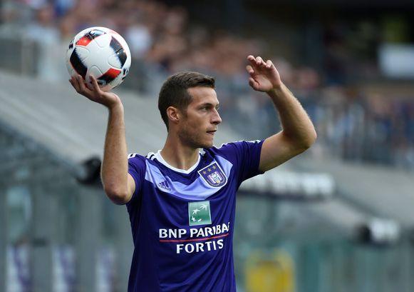 Uros Spajic, één van de nieuwkomers bij Anderlecht.