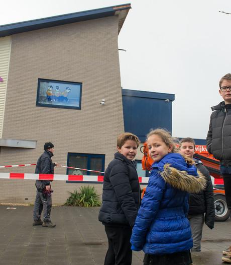 Leerlingen van de Langewieke in Dedemsvaart gewoon weer naar school