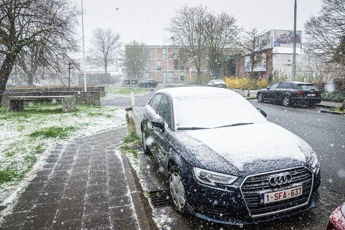 Nog tot woensdag wordt smeltende sneeuw verwacht.