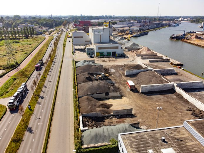 PR dgfoto Gelderlander Nijmegen: Dura Vermeer Asfalt Productie Nijmegen APN