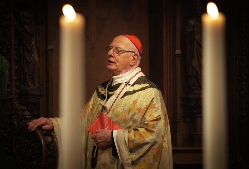 Kardinaal Ad Simonis, die vorig jaar op 88-jarige leeftijd overleed.