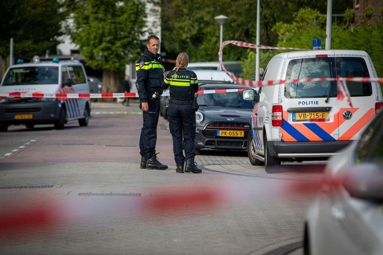 Na de moord op advocaat Derk Wiersum. Beeld Hollandse Hoogte /  ANP
