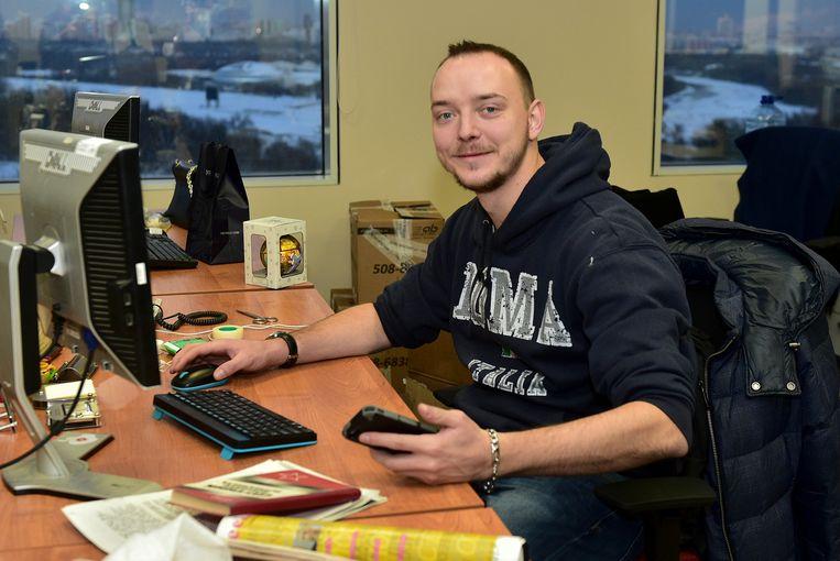 Communicatiemedewerker Ivan Safronov bezorgde staatsgeheimen aan een NAVO-land Beeld AP