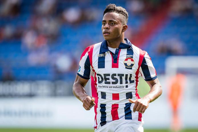 Willem II-aanwinst Diego Palacios.
