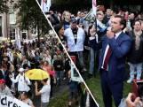 Honderden betogers bij mars tegen coronapas in Den Haag