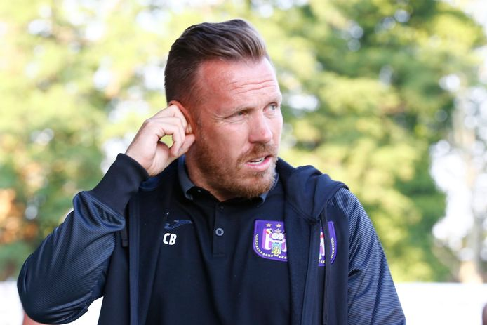 Craig Bellamy, beloftencoach van Anderlecht.