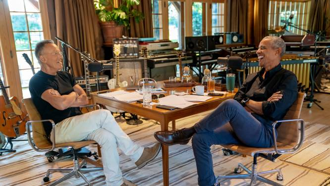 Barack Obama en Bruce Springsteen 'te gast' bij Humberto