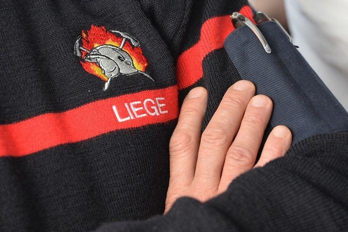 Pompiers de Liège.