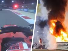 """""""Dites-moi qu'il va bien..."""", les pilotes ont vécu des longues minutes d'angoisse après l'accident de Grosjean"""