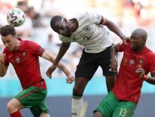 Dit is waarom de Duitse voetballer Rüdiger een masker draagt tijdens het EK