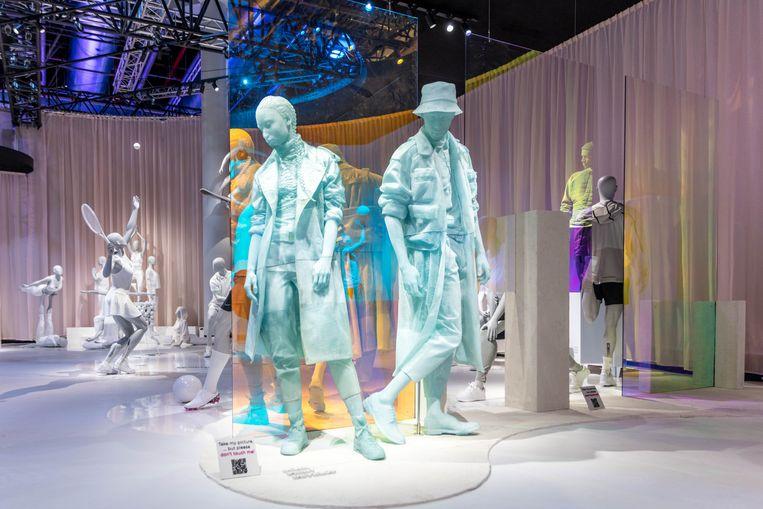 Ook de wereld van etalagefiguren is aan trends onderhevig. Consumenten willen zichzelf nu in een mannequin kunnen herkennen.  Beeld Hans Boodt Mannequins