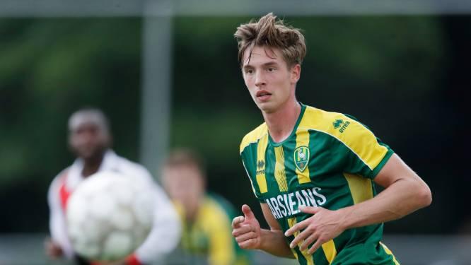 Marius van Mil zelfkritisch na ADO Den Haag-debuut: 'Ik had eigenlijk moeten scoren'