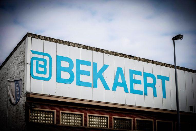 Er staan 160 jobs op de tocht bij staaldraadproducent Bekaert. Beeld Photo News