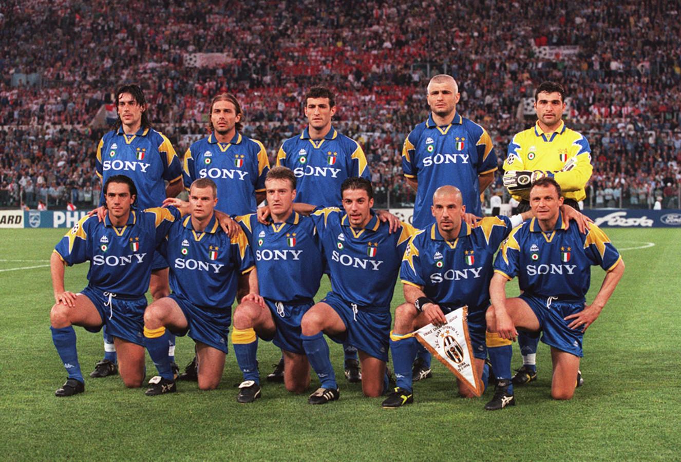 Het Juve dat in 1996 Ajax in de Champions Leaguefinale versloeg