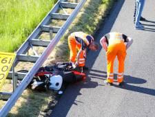 Ongeluk en wegwerk leiden tot drukte op snelweg A50 bij Apeldoorn