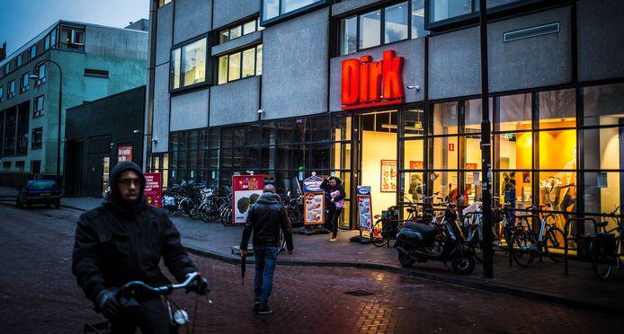 Supermarkt Dirk van den Broek in het centrum van Dordrecht.