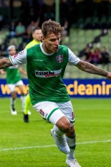 Tim Hölscher heeft bij FC Dordrecht de stijgende lijn te pakken: 'Er zit nog heel veel in het vat voor mij'