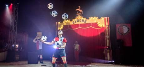 Wervelend Kidsheldencircus voor kleine Feyenoordfans